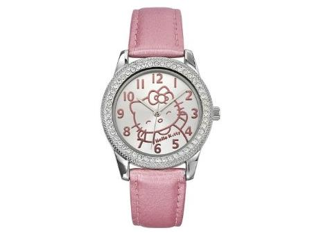 Reloj rosa de Hello Kitty