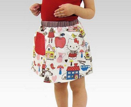 ropa hello kitty falda  - Ropa de Hello Kitty