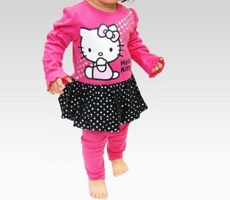 ropa hello kitty vestido lunares  - Ropa de Hello Kitty