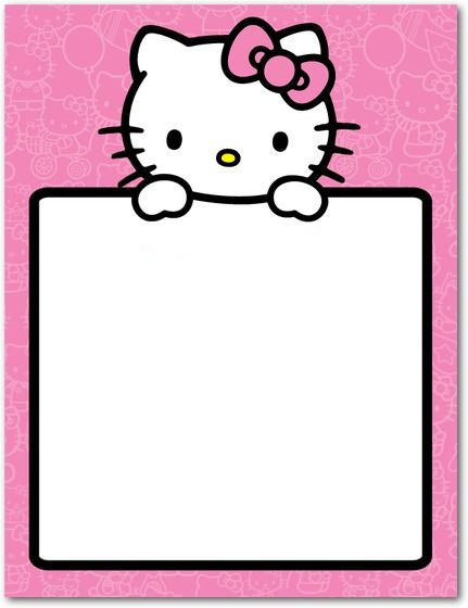 tarjetas cumpleanos hello kitty grande  - Invitaciones de cumpleaños Hello Kitty