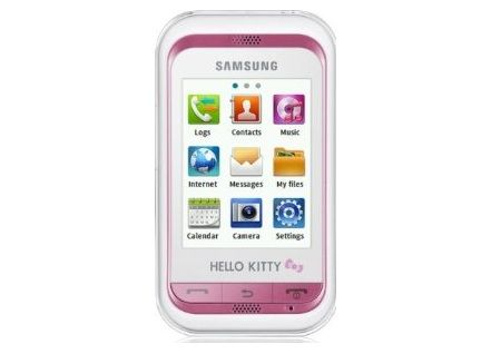telefono kitty samsung c3300  - Samsung de Hello Kitty