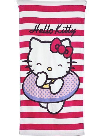 toalla playa hello kitty kiabi
