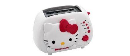 tostadora hello kitty roja