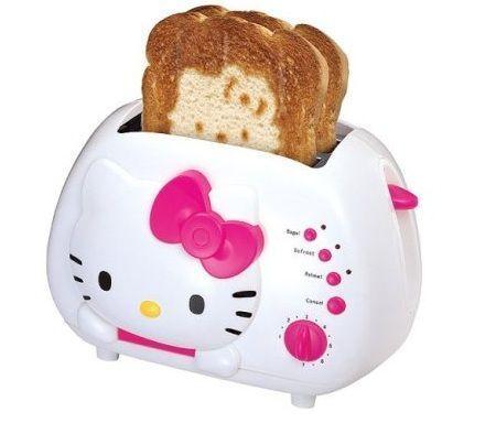 tostadora hello kitty tostada