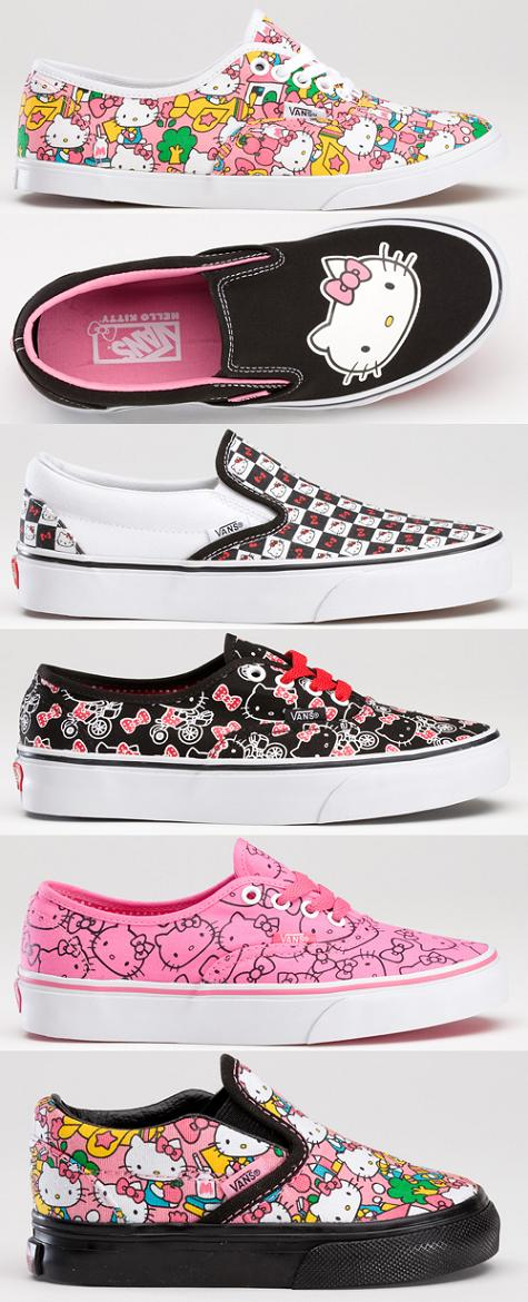 zapatillas vans hello kitty  - Zapatillas Vans de Hello Kitty