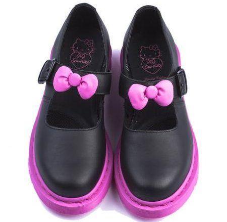 zapatos hello kitty bailarinas martens