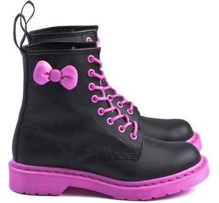 zapatos hello kitty martens
