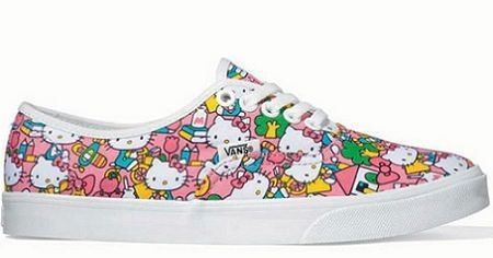 zapatillas hello kitty vans
