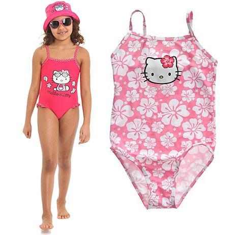 bañadores bikinis hello kitty niña  - Bikinis y bañadores Hello Kitty para niñas