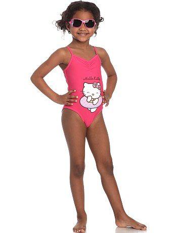 bañadores hello kitty niña  - Bikinis y bañadores Hello Kitty para niñas
