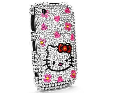 blackberry hello kitty brillantes corazones