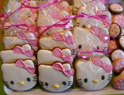 cookies hello kitty detalle
