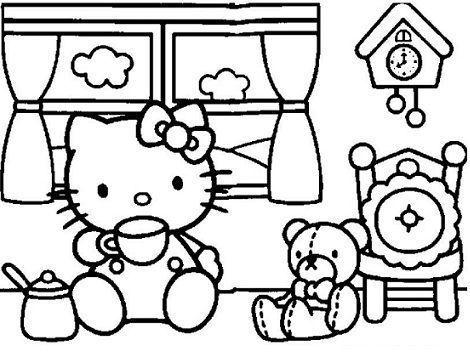 dibujos hello kitty imprimir te