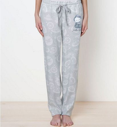 pijamas hello kitty oysho pantalon largo