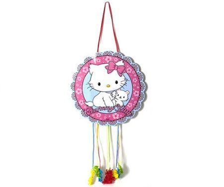 pinata hello kitty charmmy redonda