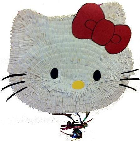 pinata hello kitty grande cabeza