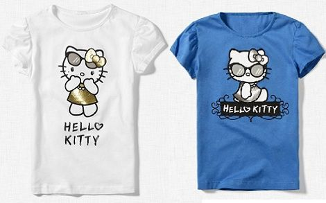 ropa hello kitty zara camiseta
