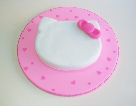 tarta hello kitty paso a paso pincel