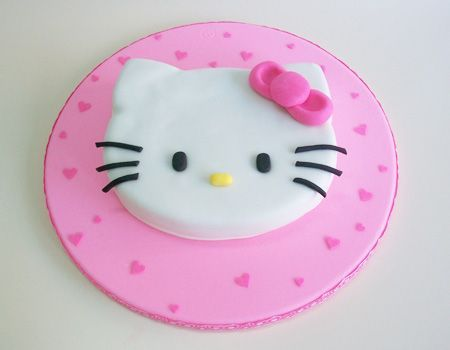 tarta hello kitty paso a paso  - Tarta de Hello Kitty paso a paso