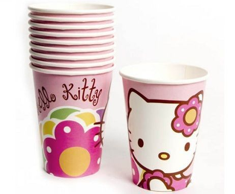 vasos hello kitty