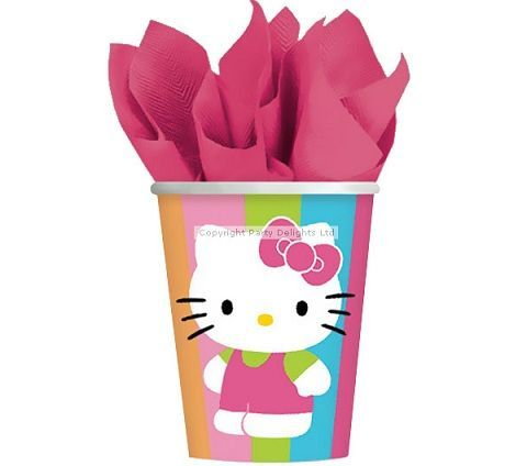 vasos hello kitty