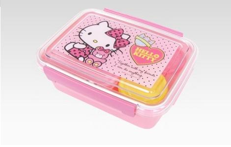 Hello Kitty comida  - Tupper de Hello Kitty