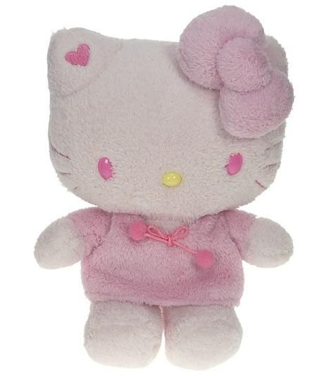 hello kitty rosa peluche