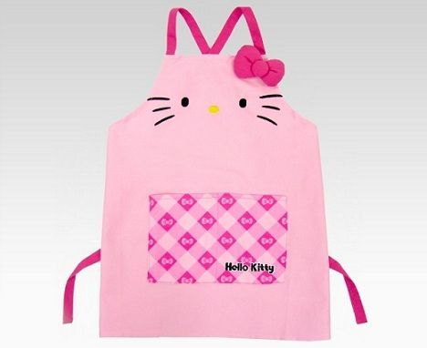 productos hello kitty delantal  - Productos Hello Kitty curiosos