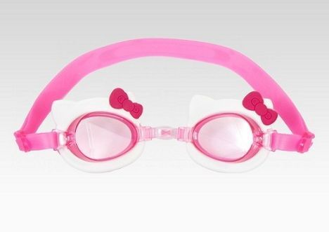 productos hello kitty gafas natacion  - Productos Hello Kitty curiosos