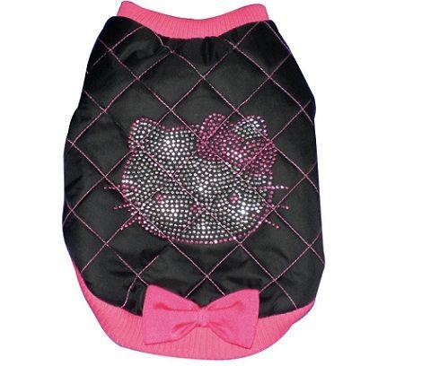 ropa hello kitty perro bomber  - Ropa de Hello Kitty para perro