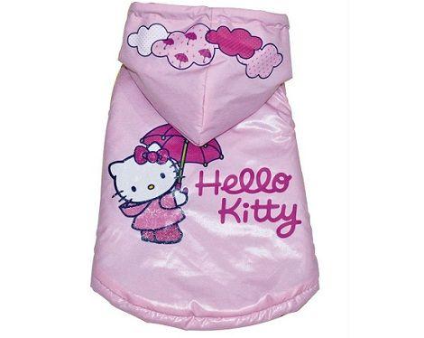 ropa hello kitty perro impermeable  - Ropa de Hello Kitty para perro