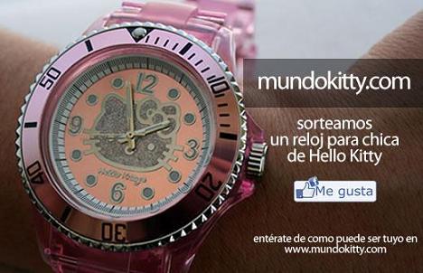 Sorteo Mundokitty  - Sorteo reloj Hello Kitty