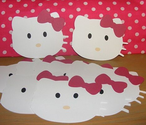 tarjetas cumpleanos hello kitty casera  - Haz tu invitación casera de Hello Kitty para fiestas