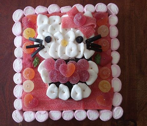 tarta hello kitty chuches grande