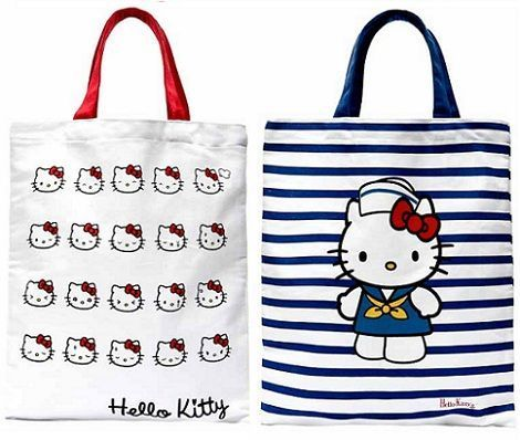 bolsos kitty blanco  - Bolsos de Hello Kitty