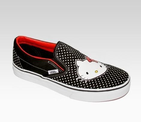 Calzado Hello Kitty  - Vans y Hello Kitty