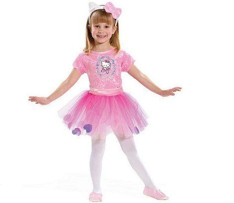 disfraz hello kitty bailarina