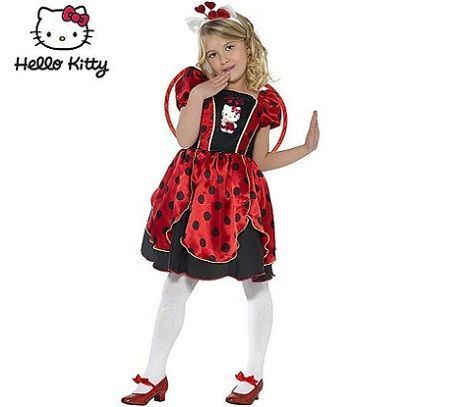 disfraz hello kitty mariquita