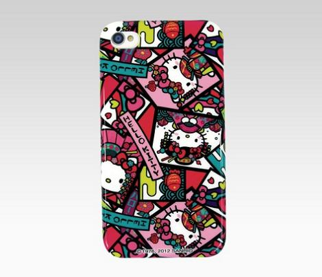 Funda iPhone4 de Hello Kitty