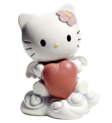 Hello Kitty amor  - Hello Kitty de porcelana