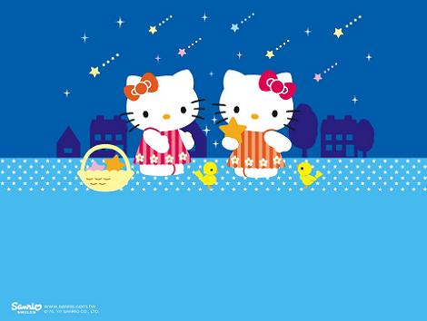 Hello Kitty fondo pantalla