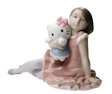 Hello Kitty Lladró  - Hello Kitty de porcelana
