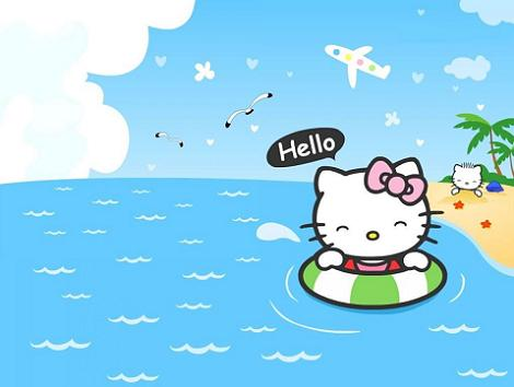 Hello Kitty playa