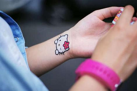 Hello Kitty tattoo  - Tatuajes Hello Kitty