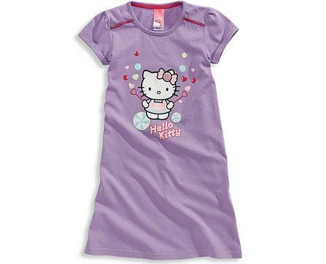 pijamas hello kitty cya camison lila  - Pijamas Hello Kitty