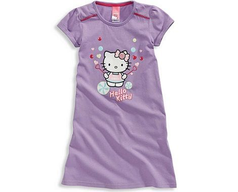 pijamas hello kitty cya camison lila