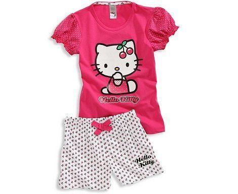 pijamas hello kitty cya cerezas