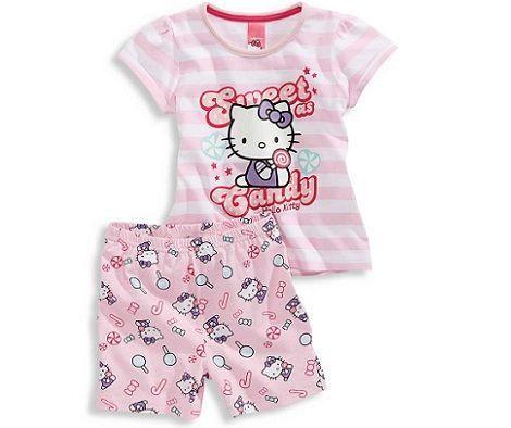 pijamas hello kitty cya dulces