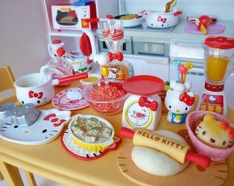 productos hello kitty graciosos cocina  - Productos Hello Kitty graciosos