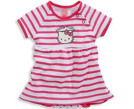 ropa bebe hello kitty rayas